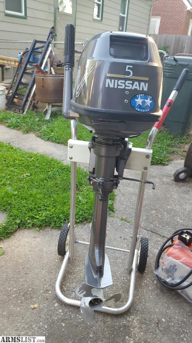 Armslist For Sale Nissan 5 Hp Outboard 4 Stroke