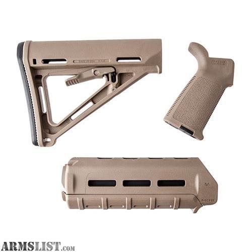 armslist for sale magpul custom moe furniture set