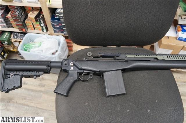 ARMSLIST For Sale SPRINGFIELD M1A VLTOR FURNITURE 308