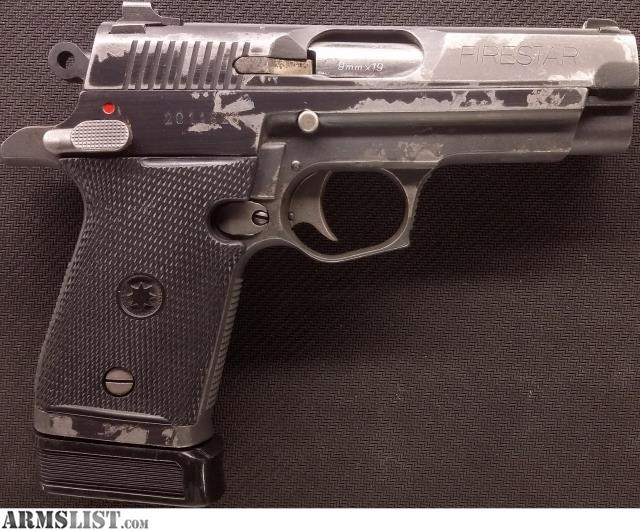 ARMSLIST - For Sale: Star Firestar M43 in 9mm w/ Extended ...