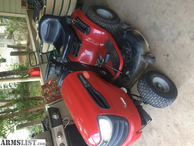 Armslist for sale trade like new craftsman lawn for Lawn tractor motors for sale