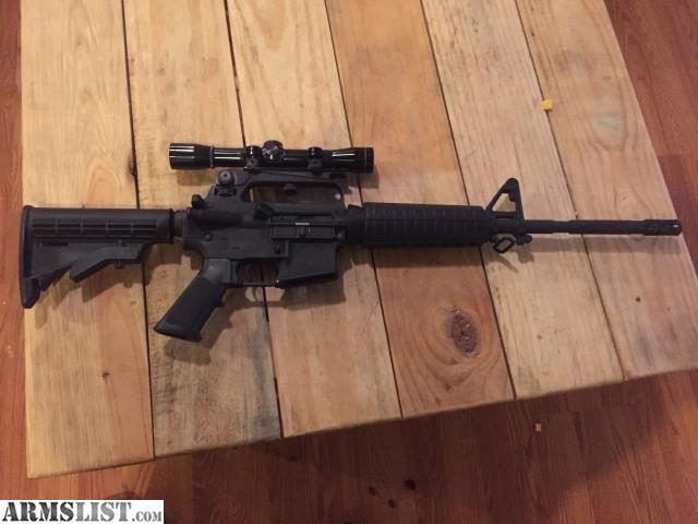 For Sale/Trade: Bushmaster AR-15 .223/5.56