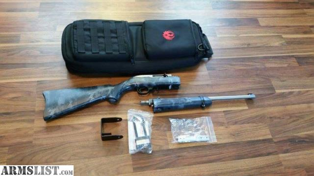 Bnib ruger 10 22 stainless 50th anniversary takedown with kryptek