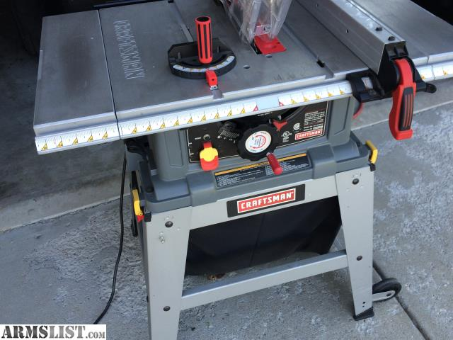 Armslist For Sale Trade Craftsman 10 In Table Saw With Leg Set Nice
