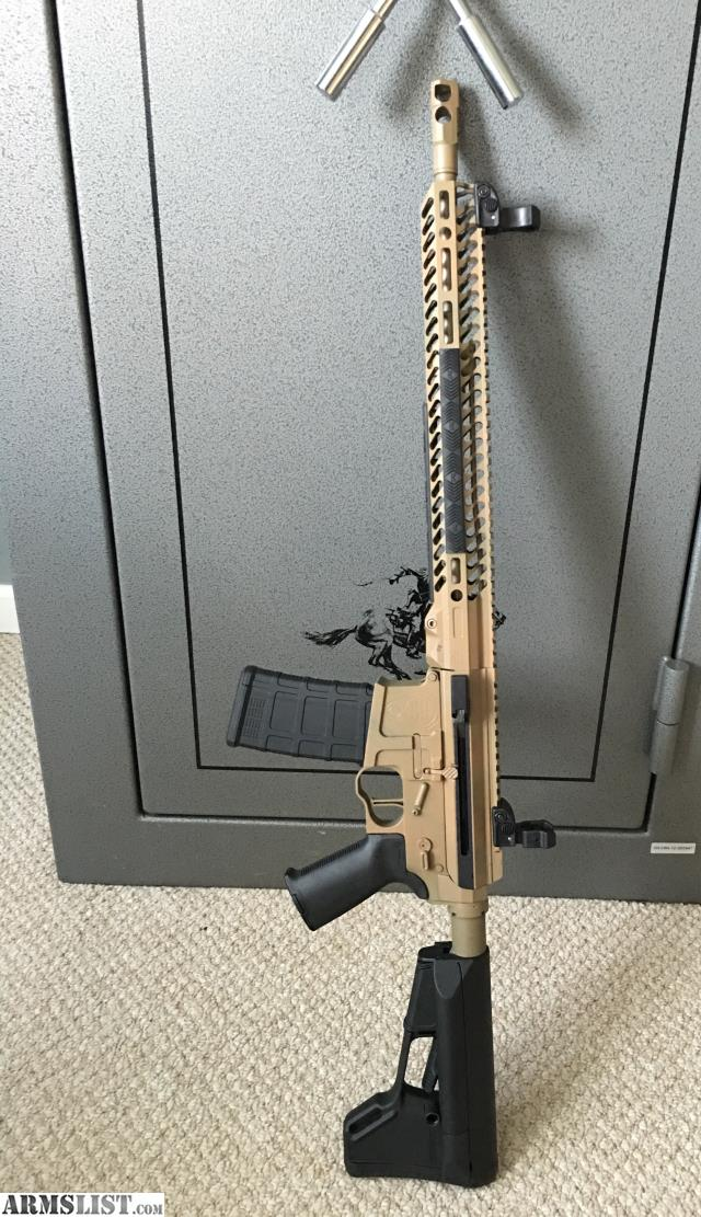 Spirit arms side charging ar for trade asa side charge upper with bcg