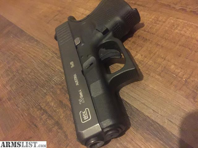 Armslist for sale trade lnib glock 26 gen 4 w extras - Alienware concealed carry ...
