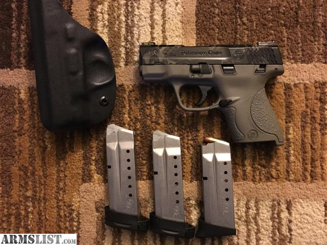 M And P Shield Custom ARMSLIST - For Sale: T...