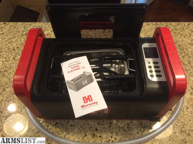 hornady ultrasonic cleaner instructions