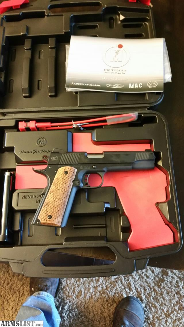 Armslist for sale american classic 11 1911 new never fired for New american classic