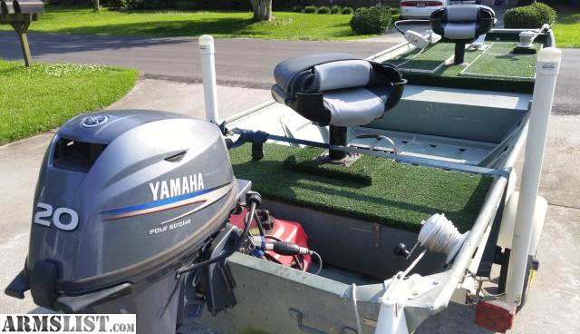 Armslist for sale 14 fishing boat w yamaha 20 hp 4stroke for Yamaha motor boats for sale