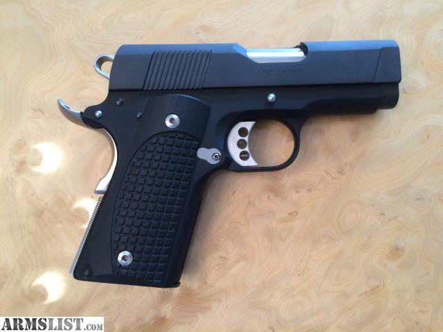 Armslist for sale colt new agent 45acp lots of upgrades