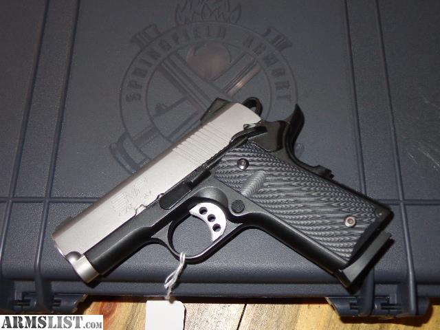 Armslist for sale springfield armory 1911 emp 40 s amp w compact