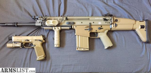 Armslist for sale trade scar 17 and fnx 45 tactical