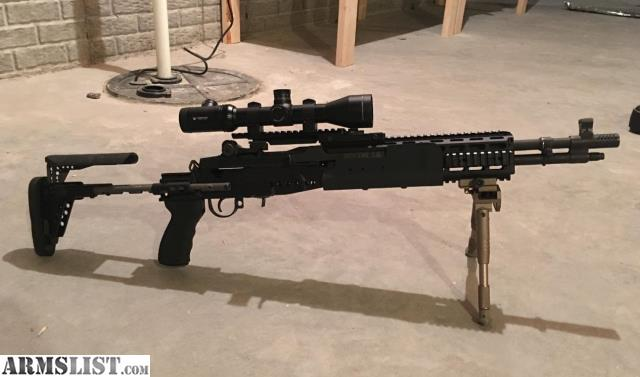 ARMSLIST - For Sale: Socom 16 with New Sage EBR Stock and