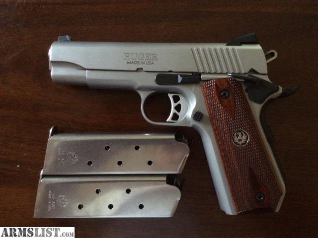 Armslist For Sale Trade Ruger Commander 1911 Customized