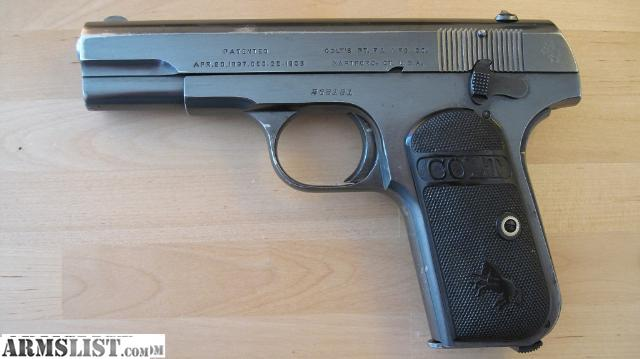 Armslist for trade glock 43 - Armslist For Sale Trade 1903 Colt Hammerless