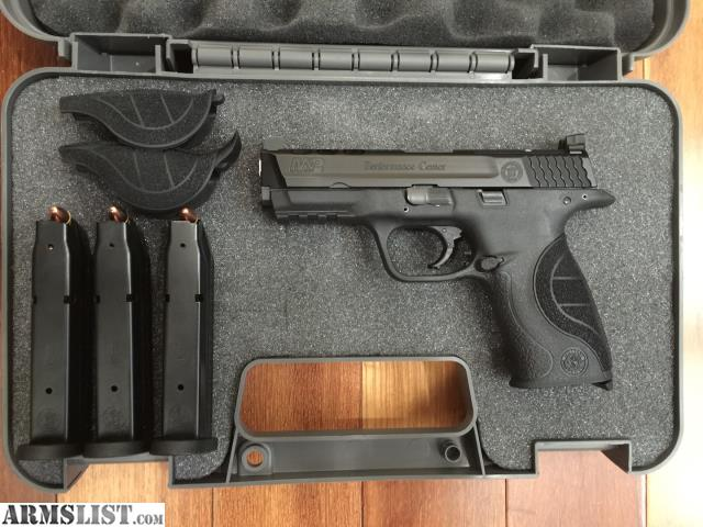 Armslist for sale s w m p9 performance center core for M p ported core 9mm