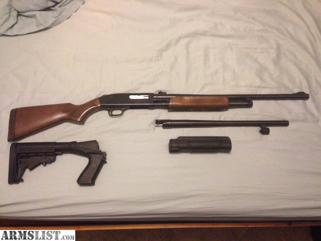 armslist for sale mossberg 500 with 18 5 quot barrel and 24