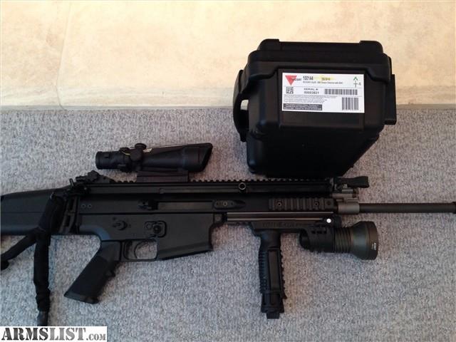 Armslist for sale fnh scar 17s