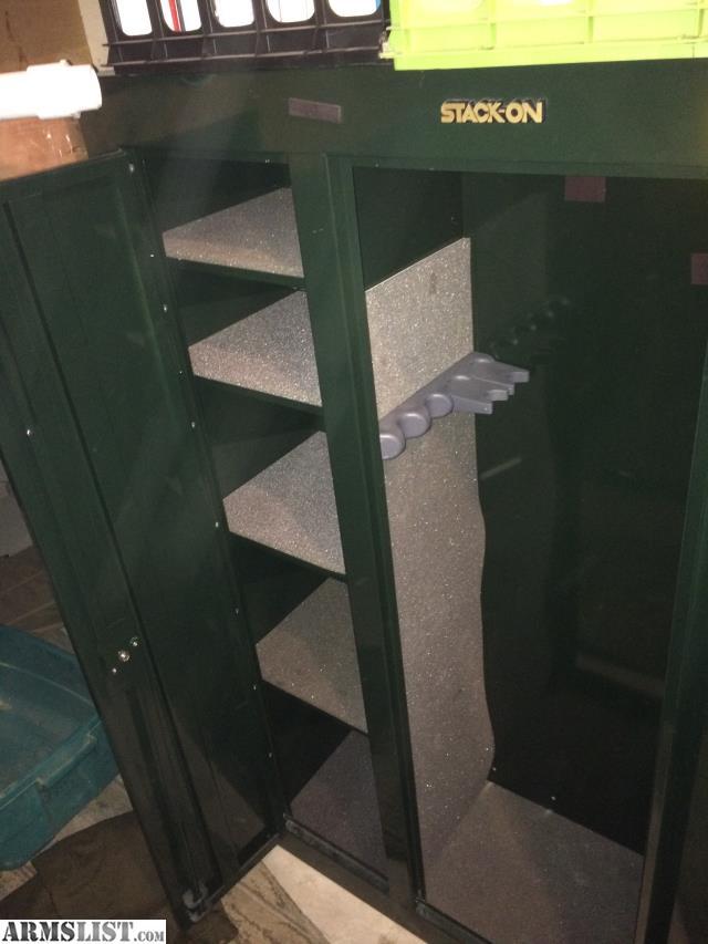 ARMSLIST - For Sale: Stack on 2 door safe.