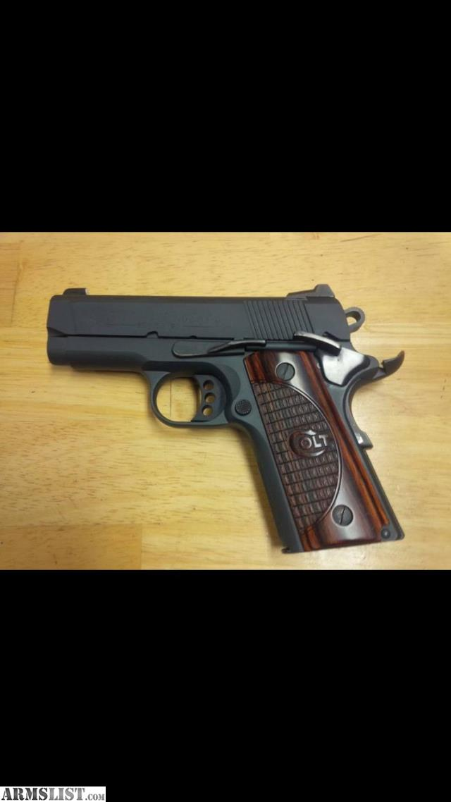 Armslist for sale colt new agent 1911 45 talo edition