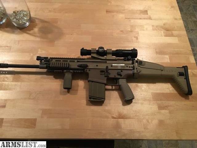 Scar 17s fde box optic and ammo i have a very nice scar 17 fde i m