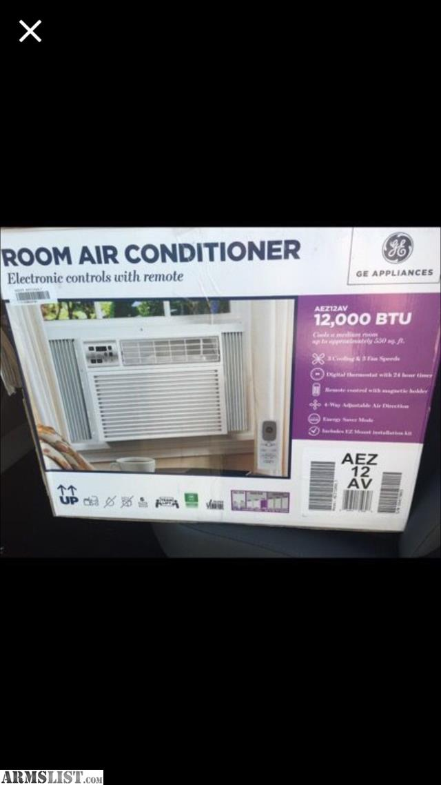Armslist for sale trade brand new ge 12 000 btu air for 12 000 btu window air conditioner