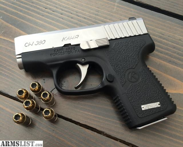 Armslist For Trade Kahr Cw380 With Extras And Ammo