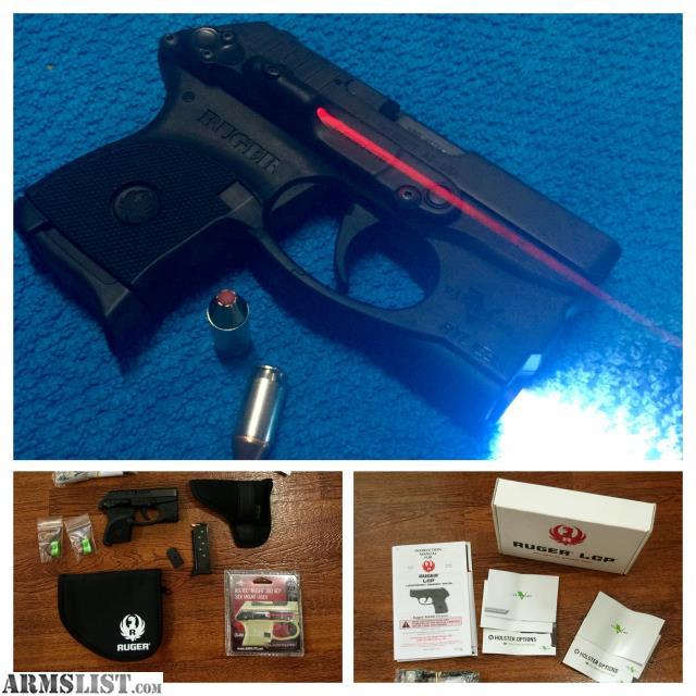Laserlyte Ruger Lcp Side Mount Laser: For Sale: NIB Ruger LCP .380 W/laser + Light