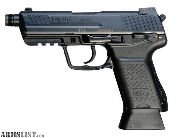 ARMSLIST - For Sale: HK45CT US V3 45 ACP Pistol 234131NH.