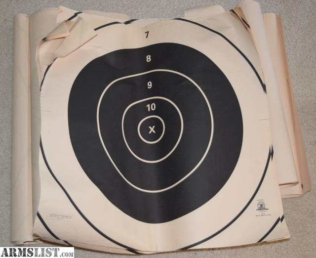 shooting paper targets for sale Paper targets printed on high-quality, heavy-duty, tear-resistant vellum paper that also resists glare free shipping on orders over $70 from thompson target.
