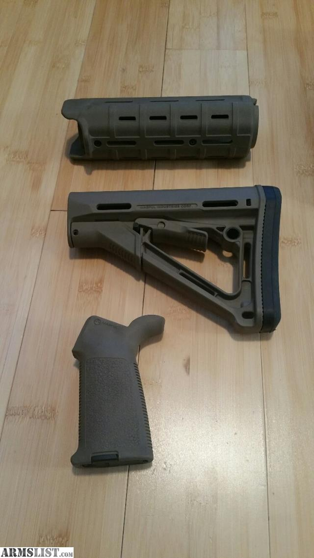 armslist for sale trade magpul fde furniture set