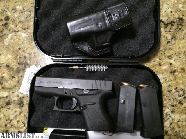 Armslist for trade glock 43 - Armslist For Sale Glock 43