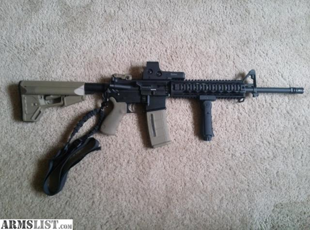 For Sale: Custom AR15 PRICE REDUCED