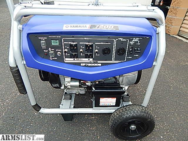 Armslist for sale new yamaha 7200 watt industrial for Yamaha generator for sale