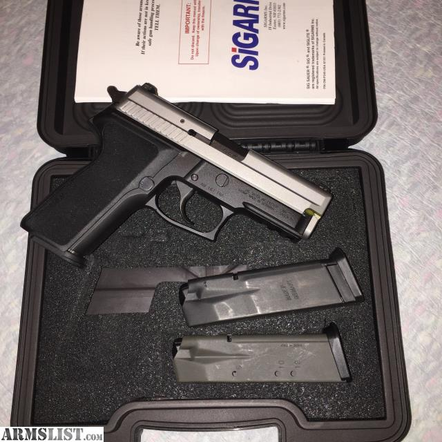 For Sale Trade Sig Sauer P229 9mm Tacpac With: For Sale/Trade: Sig Sauer P229 2 Tone, NS, 3 Mags