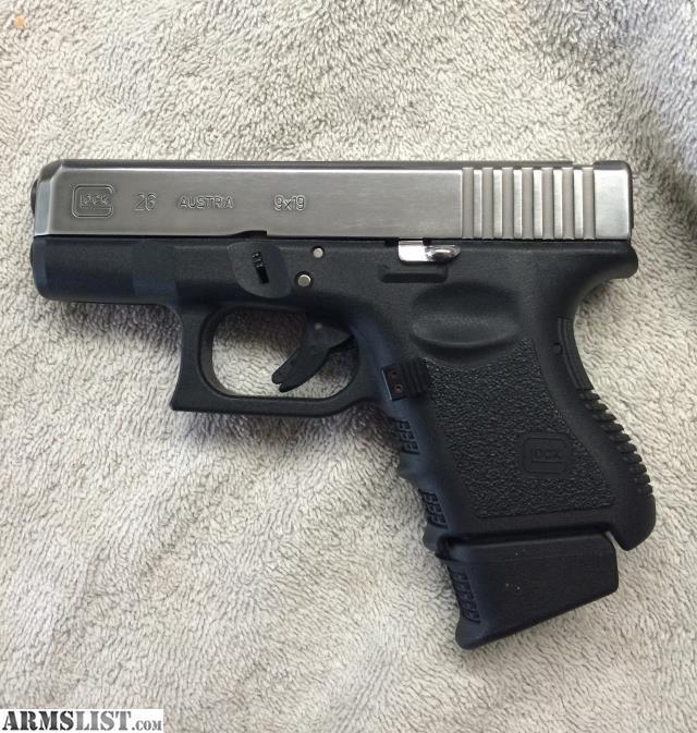 ARMSLIST - For Sale: Glock 26 gen3