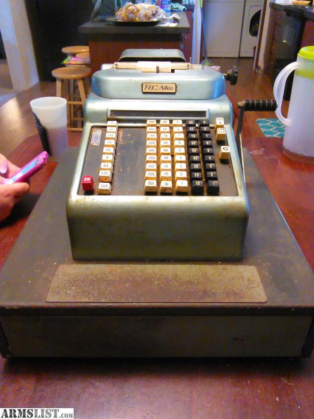 ARMSLIST - For Sale: Vintage cash register