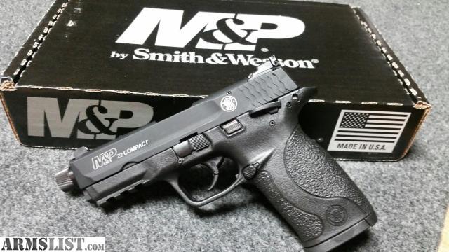 Armslist for sale smith wesson m p compact lr