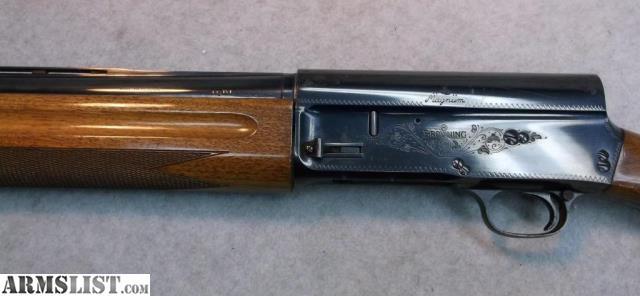 Auto-5 Semi-Automatic Shotgun - Browning
