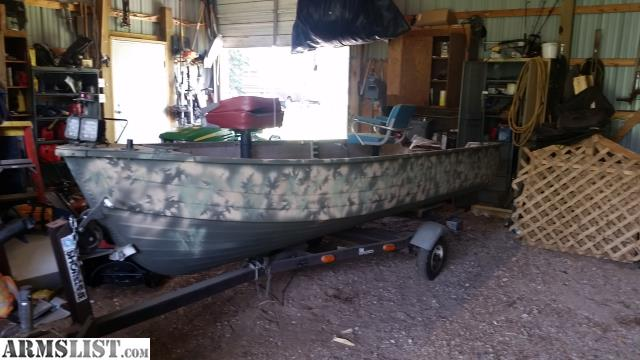 Armslist For Sale Trade 14 Ft Camo Boat With 2 Motors Fs Ft