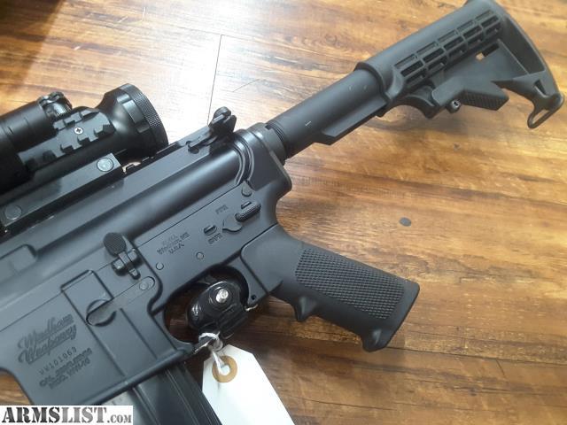 Windham weaponry ww 15 src 223 5 56mm flat top ar15 with scope light
