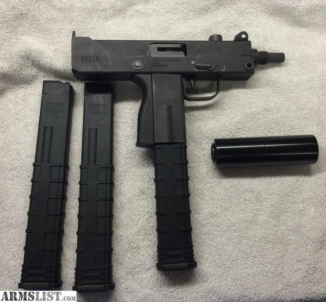 ARMSLIST - For Sale/Trade: Masterpiece 9mm Mac 10