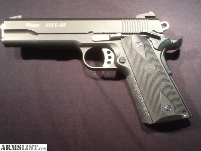 ARMSLIST - For Sale: SIG 1911-22