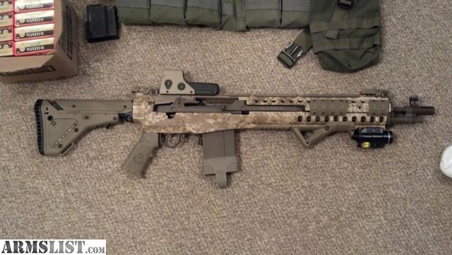Armslist For Sale Highly Modified Custom M1a Socom Ii