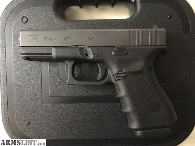 ARMSLIST - For Sale/Trade: Glock 19 gen 4