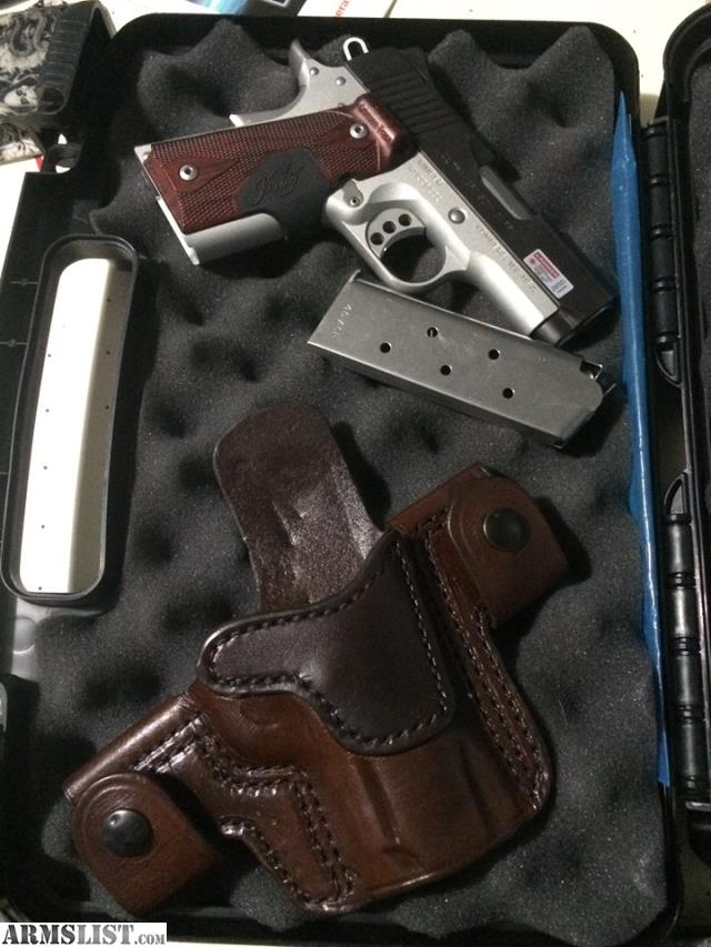 ARMSLIST - For Sale: Kimber Ultra Crimson Carry ii w/ holster