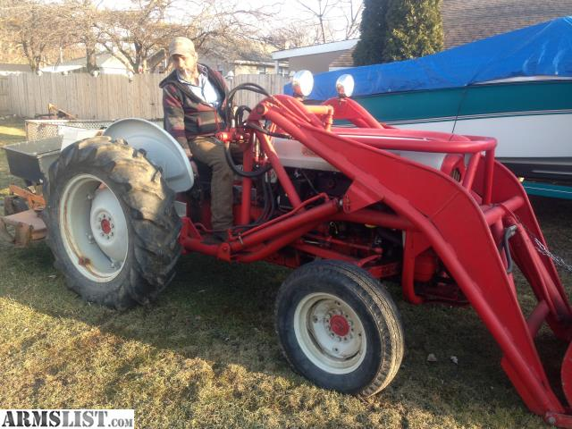 801 Ford Tractor : Armslist for trade ford tractor