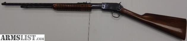 1906 WINCHESTER  22 CAL  PUMP ACTION RIFLE for sale