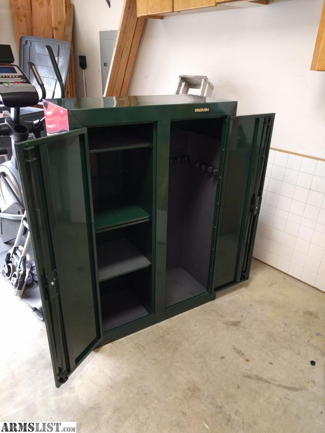 Armslist For Sale Stack On Double Door Gun Cabinet
